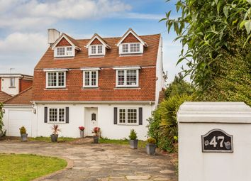 Thumbnail 5 bed detached house for sale in Ruden Way, Epsom Downs, Surrey