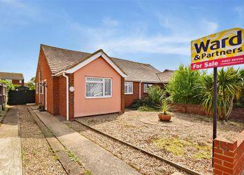 2 Bedrooms Semi-detached bungalow for sale in Manor Road, Bishopstone, Herne Bay, Kent CT6