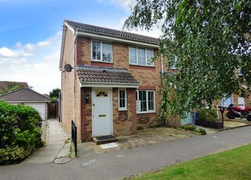 Thumbnail 3 bed end terrace house for sale in Linnet Close, Wick, Littlehampton