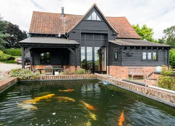 Thumbnail 3 bed barn conversion to rent in Mount Bures, Bures