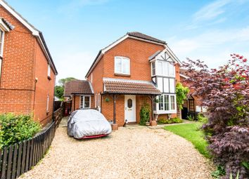 Thumbnail 4 bed detached house for sale in Shrubwood Close, Heckington, Sleaford