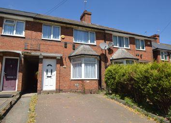 Thumbnail 3 bed terraced house to rent in Tyburn Road, Erdington, Birmingham