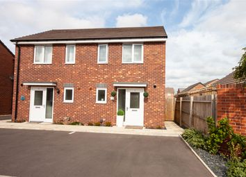 Thumbnail 2 bed semi-detached house for sale in Howdle Road, Burntwood