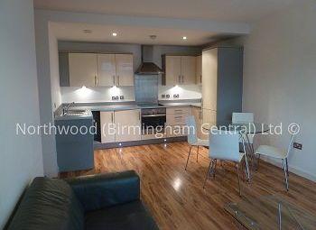 Thumbnail 2 bed flat to rent in Latitude, 155 Bromsgrove Street, Birmingham