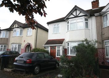 Thumbnail 3 bed semi-detached house for sale in Church Lane NW9, London