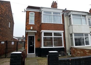 Thumbnail 3 bedroom end terrace house for sale in Telford Street, Hull
