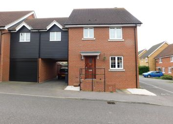 Thumbnail 4 bedroom link-detached house for sale in Kittiwake Court, Stowmarket