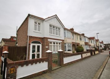 Thumbnail 3 bedroom end terrace house for sale in Oakwood Road, Portsmouth