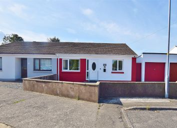 Thumbnail 3 bed semi-detached bungalow for sale in Bulford Close, Johnston, Haverfordwest