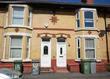 Thumbnail 3 bed terraced house to rent in Merton Road, Wallasey, Wirral
