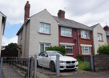 Thumbnail 3 bed semi-detached house for sale in Appledore Road, Cardiff