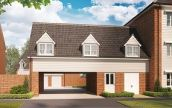 Thumbnail 1 bed flat for sale in Silfield Road, Wymondham
