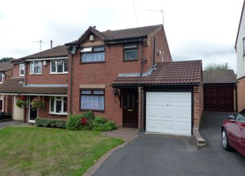 Thumbnail 3 bed semi-detached house for sale in Lodgefield Road, Halesowen