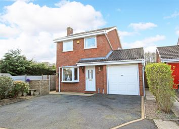Thumbnail 3 bed detached house for sale in Madeley Wood View, Madeley, Telford