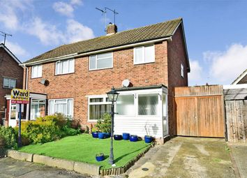 Thumbnail 3 bed semi-detached house for sale in Willow Close, Canterbury, Kent