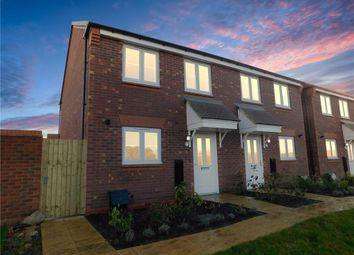 Thumbnail 2 bedroom semi-detached house for sale in Thorton Road, Haslington, Cheshire