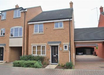Thumbnail 3 bed detached house for sale in Galileo Close, Duston, Northampton