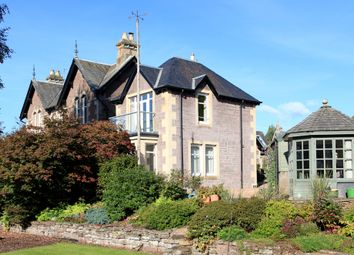 Thumbnail 4 bed flat for sale in Connaught Terrace, Crieff