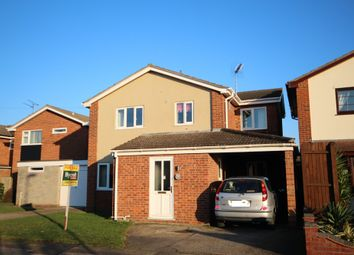 Thumbnail 3 bed detached house for sale in Pintail Drive, Bradwell, Great Yarmouth