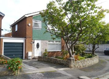 Thumbnail 3 bed detached house for sale in Acton Road, West Denton, Newcastle Upon Tyne
