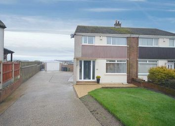 Thumbnail 3 bed semi-detached house for sale in Garborough Close, Crosby, Maryport, Cumbria