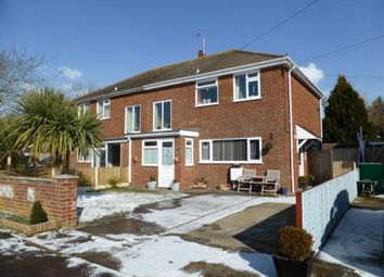 Thumbnail 3 bed semi-detached house for sale in St. Nicholas Road, Littlestone, New Romney, Kent