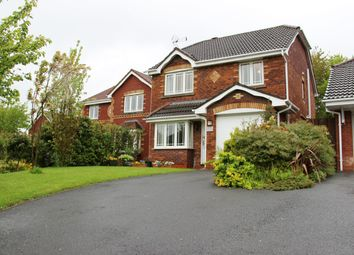 Thumbnail 4 bed detached house for sale in Summerfield Close, Walton Le Dale