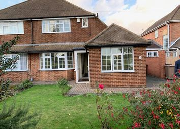 Thumbnail 3 bed semi-detached house to rent in Barnfield Avenue, Luton