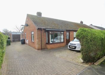Thumbnail 3 bed semi-detached bungalow for sale in Newstead Avenue, Cherry Willingham, Lincoln