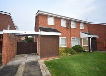 Thumbnail 2 bed property to rent in Heatherdale Close, Gwersyllt, Wrexham