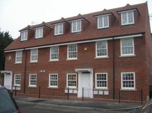 Thumbnail 2 bed flat to rent in Chase Court, High Street, Theale