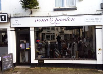 Thumbnail Retail premises for sale in 3 Northumberland Place, Teignmouth