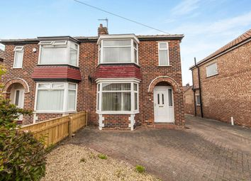 Thumbnail 3 bedroom semi-detached house to rent in Hatfield Avenue, Middlesbrough