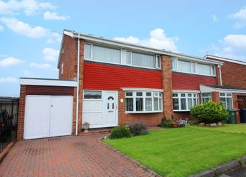 Thumbnail 3 bedroom semi-detached house for sale in Lynwood Avenue, Sunderland