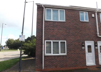 Thumbnail 1 bed end terrace house to rent in Dockin Hill Road, Doncaster