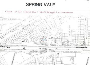 Thumbnail Land for sale in Gadfield Street, Darwen, Lancashire, .