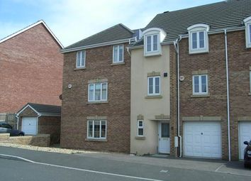 Thumbnail 4 bed town house to rent in Llwyn Y Gog, Rhoose, Vale Of Glamorgan