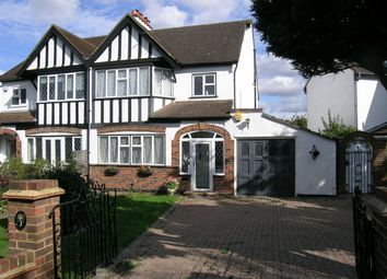 Thumbnail 3 bed semi-detached house for sale in Rutherwyke Close, Stoneleigh, Surrey