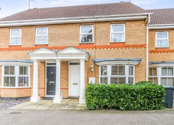 Thumbnail 3 bed terraced house for sale in Kenilworth Gardens, Thrapston, Kettering