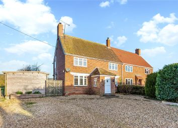 Thumbnail 3 bed semi-detached house for sale in Church Road, Stanton St. Bernard, Marlborough, Wiltshire