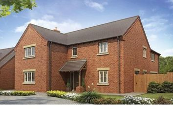 Thumbnail 4 bed detached house for sale in Stokes Rise, Great Easton, Market Harborough