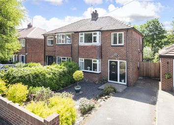 Thumbnail 3 bed semi-detached house for sale in Birchwood Avenue Leeds, West Yorkshire