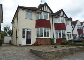 Thumbnail 3 bed semi-detached house for sale in Castleford Avenue, London