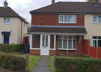 Thumbnail 2 bed semi-detached house to rent in Tigley Avenue, Birmingham