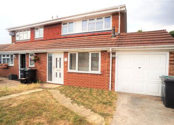 Thumbnail 4 bed semi-detached house to rent in The Drove Way, Istead Rise, Gravesend