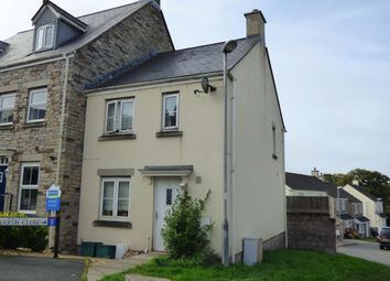 Thumbnail 3 bed end terrace house for sale in Wadlands Meadow, Okehampton