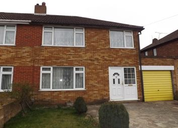 Thumbnail 3 bed property to rent in Lalleford Road, Luton