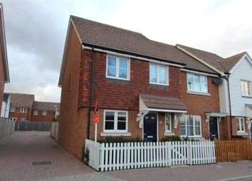 Thumbnail 3 bed end terrace house for sale in Spire Way, Wainscott, Rochester, Kent