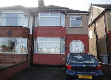 Thumbnail 4 bedroom end terrace house for sale in Grove Park, Kingsbury