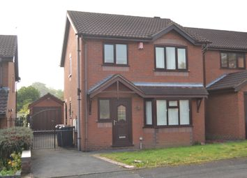 Thumbnail 3 bed detached house for sale in The Elms, Porthill, Newcastle